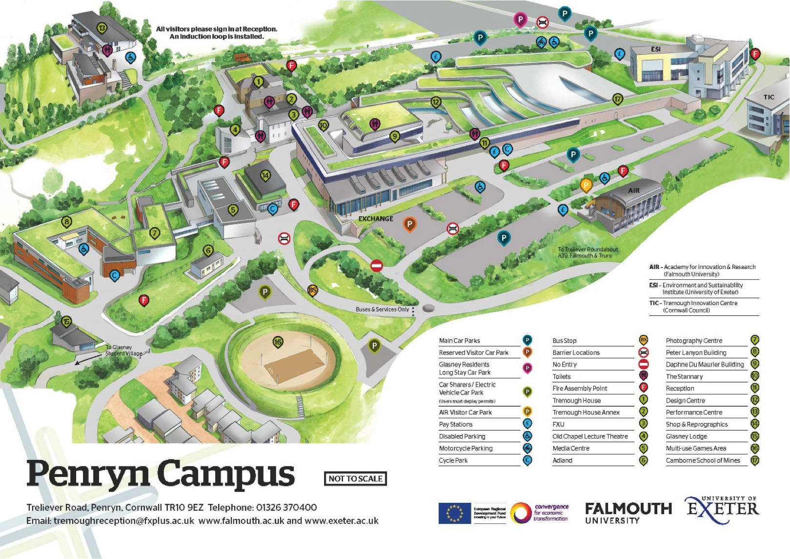 Phillips Exeter Academy Campus Map.Exeter University Campus Map Park Ideas